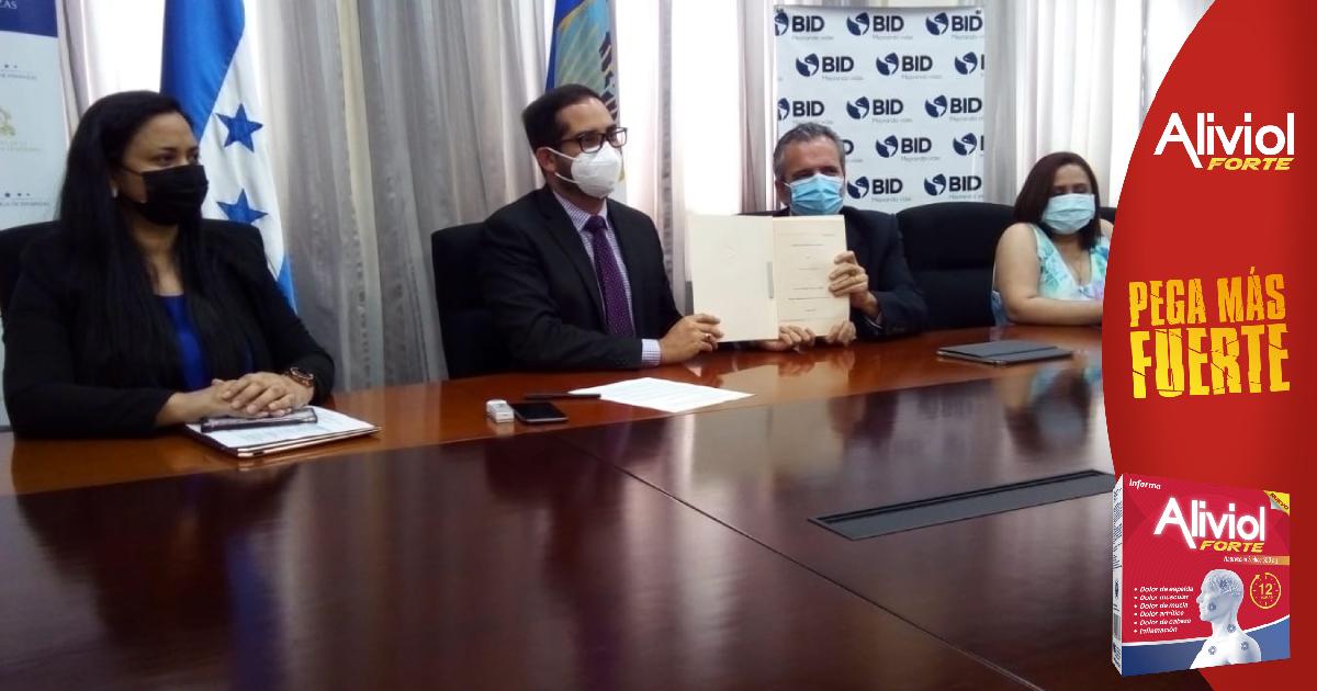 BID y Finanzas firman convenio para mejorar la competitividad de Honduras mediante la transformación digital