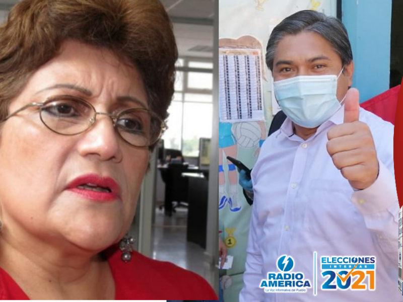 """Alcalde de Colinas no es tan amable al mandar a Wilfredo, Luisa Borjas y su movimiento """"USB"""" fundar otro partido"""