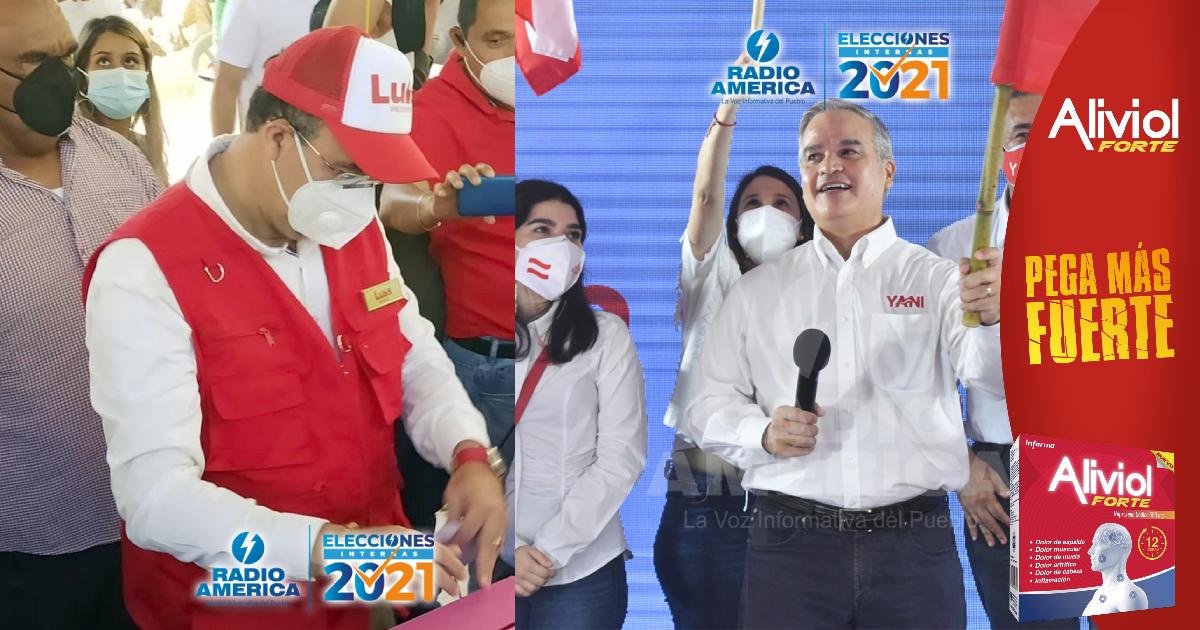 Yani Rosenthal con amplia ventaja electoral sobre Luis Zelaya, según boletín del CNE