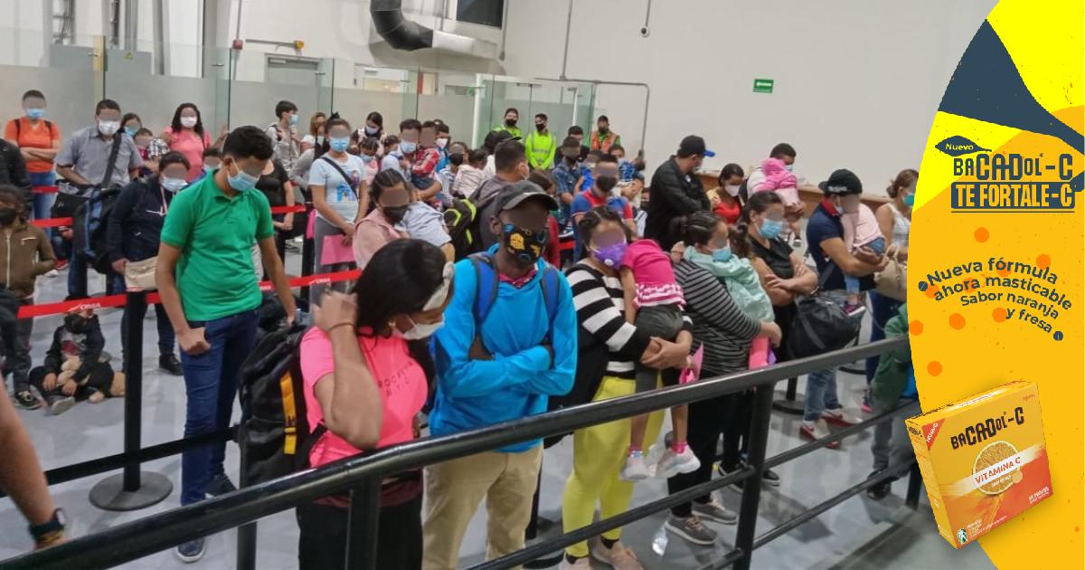 México detiene a 70 hondureños y otros migrantes que cruzaron el país en avión del sur al norte