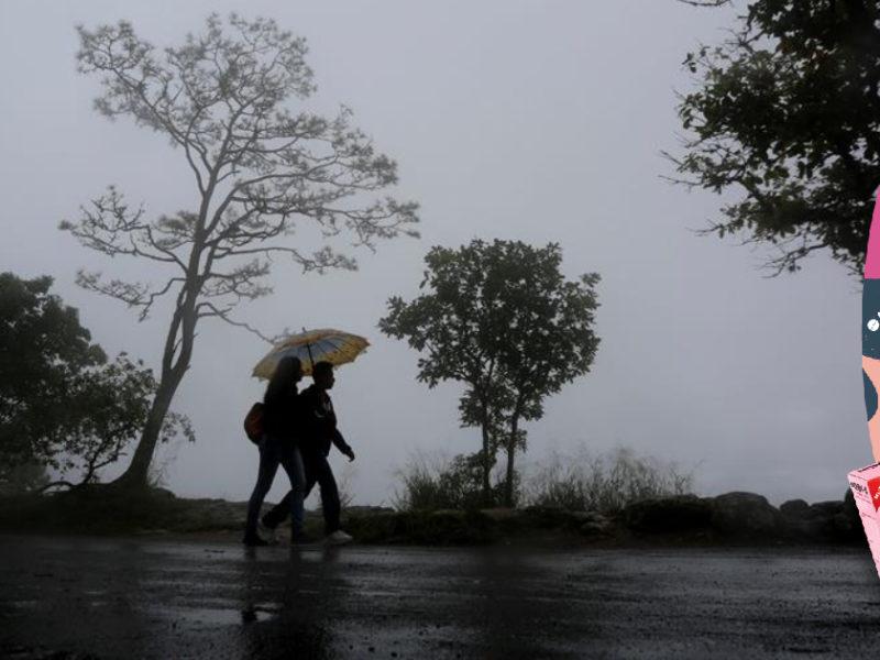 Región sur y central seguirán con precipitaciones acompañadas de tormentas eléctricas