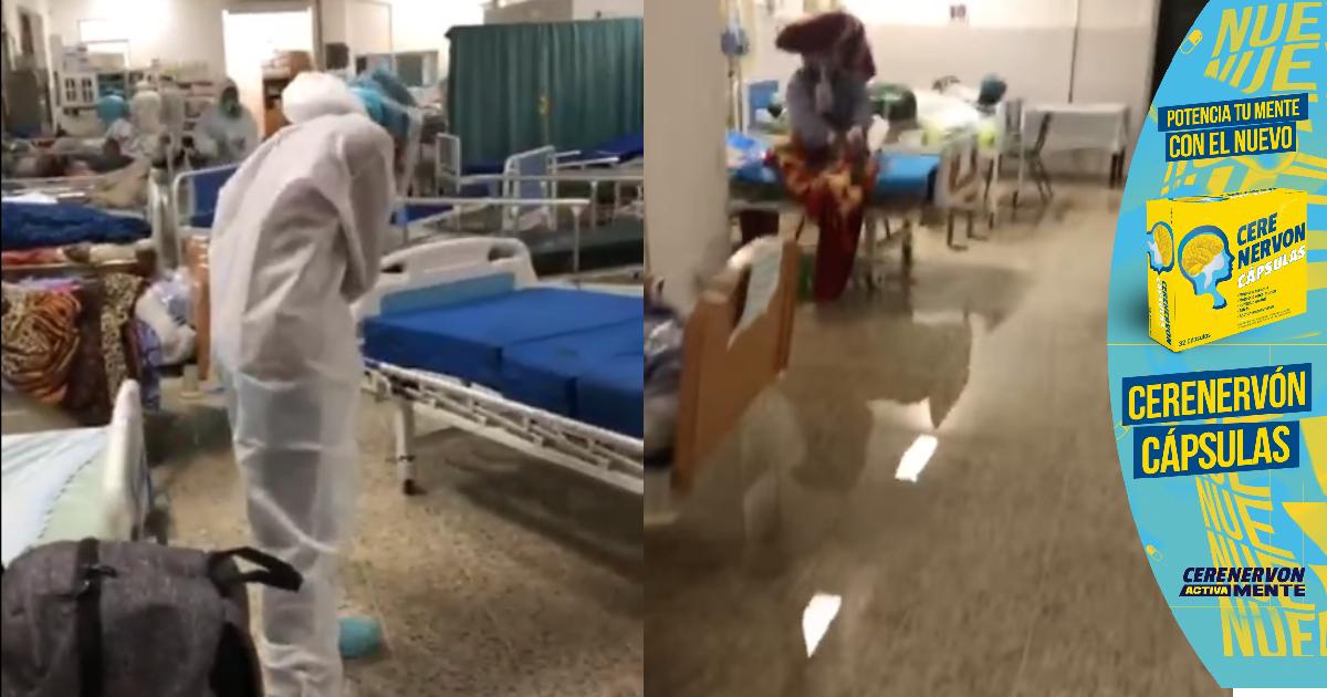 Las primeras lluvias ponen al descubierto la precaria situación del Hospital del Sur de Choluteca