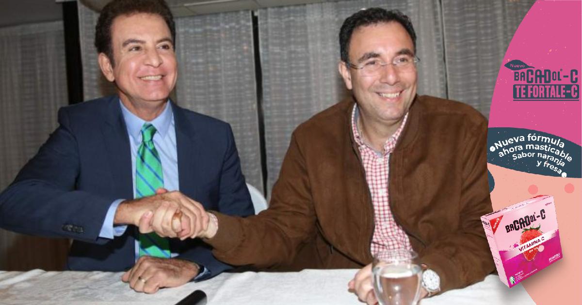 """Salvador Nasralla reitera que su alianza será con """"gente buena y limpia"""" como Luis Zelaya y otros personajes"""