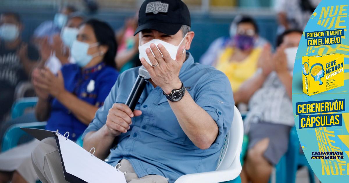 Presidente señala que un 35% de las personas no quieren vacunarse, peros los buscarán para inmunizarlos
