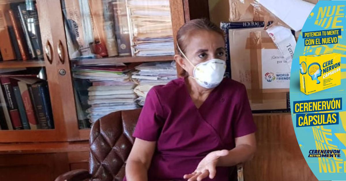 """Doctora Suyapa Sosa insta a los jóvenes cuidarse, porque la """"nueva cepa"""" covid no respeta edad"""