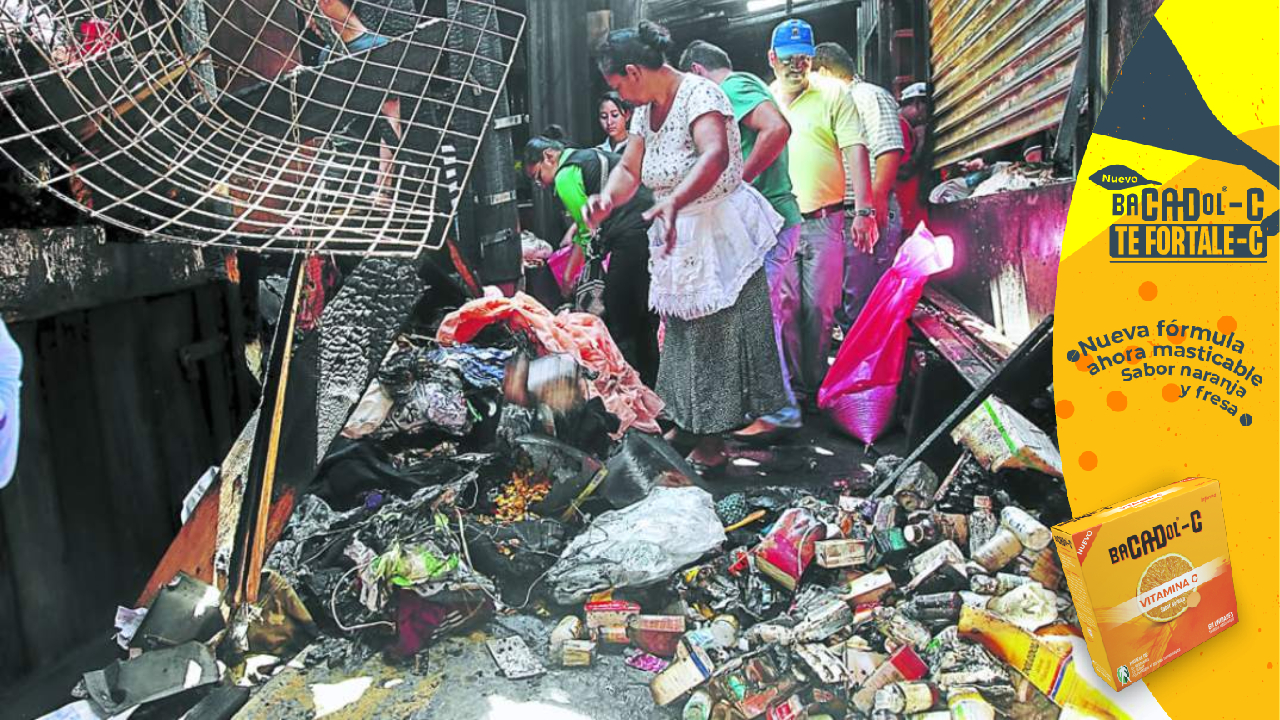 A 10 años del incendio en el mercado San Isidro, mas de 400 vendedores aún esperan respuesta de las autoridades
