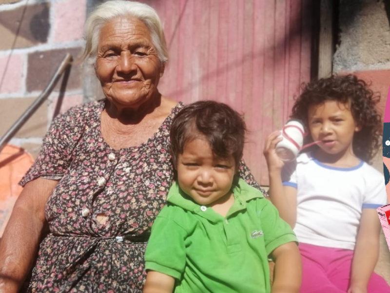 Doña María Isabel Díaz, una madre luchadora, pide a Dios que le siga dando fuerzas para sacar adelante a sus hijos