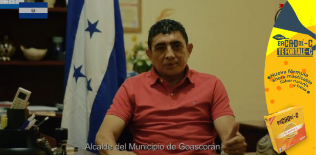Alcalde de Goascorán solicita al presidente Bukele vacunas anticovid para proteger a su población ante el mortal virus