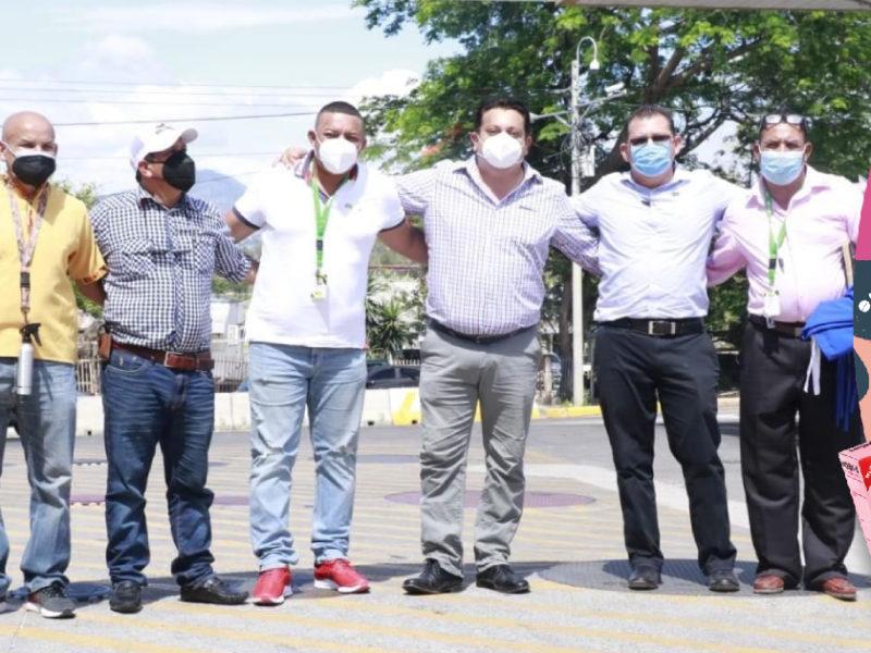 Alcalde hondureños van contentos rumbo a San Salvador y mañana se reunirán con Ministro de Salud para abordar adquisición de vacunas anticovid