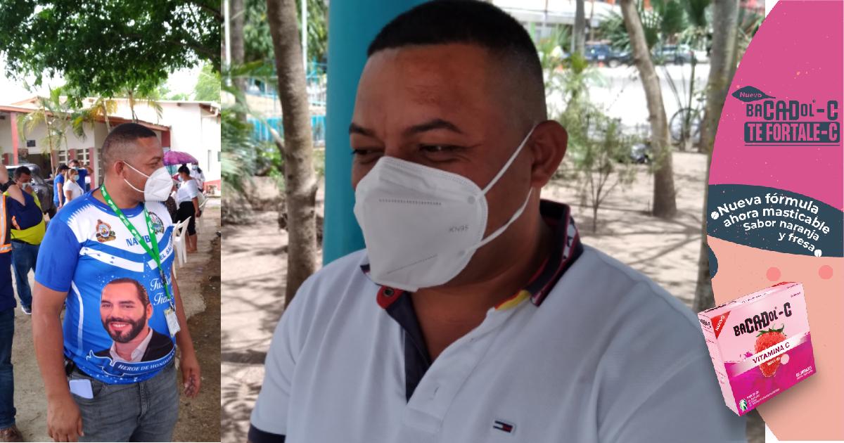 """Alcalde Chirinos: """"Estoy muy contento por traerle las vacunas anticovid-19 a mi pueblo Manto"""""""