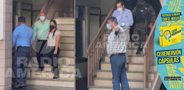 Tribunal dicta detención judicial contra Ramón Bertetty y Carolina Andrade por desfalco financiero del IHSS