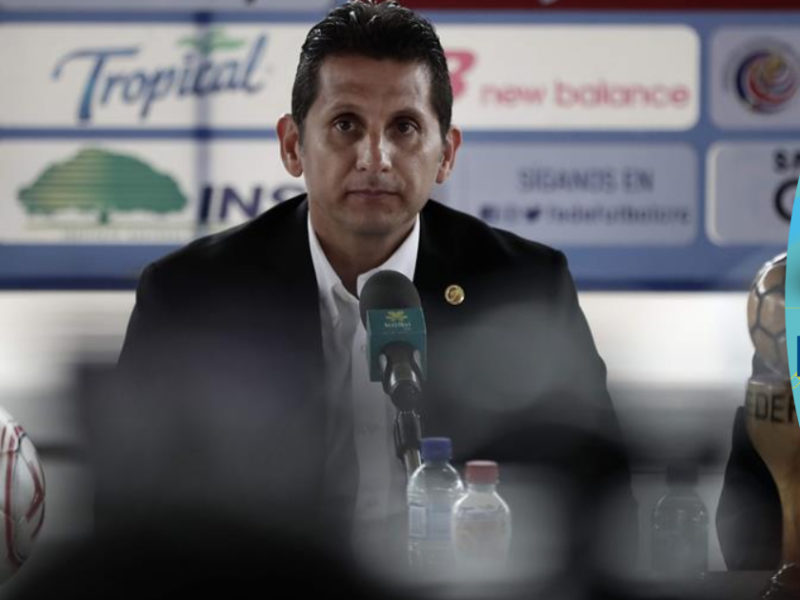 Destituyen al seleccionador de Costa Rica tras 11 partidos sin ganar