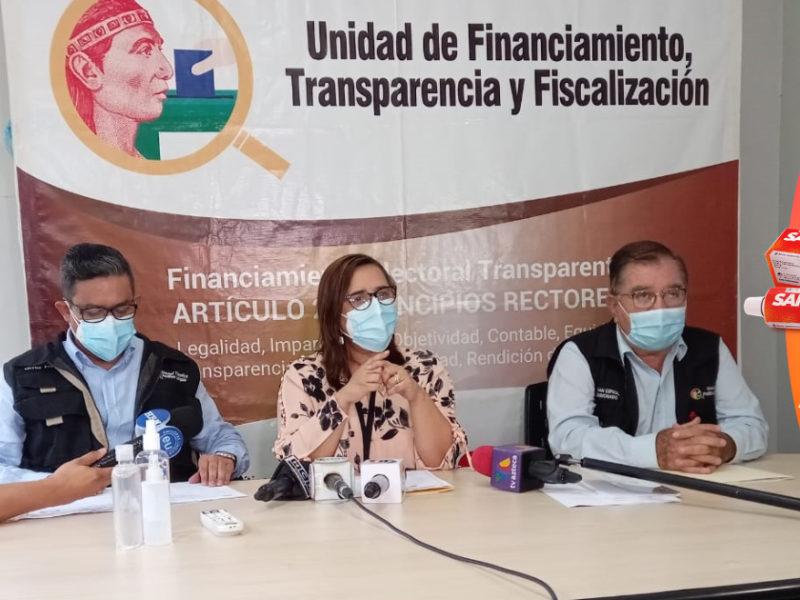 Política Limpia sanciona con 50 salarios mínimos a cinco partidos políticos por no presentar sus informes financieros