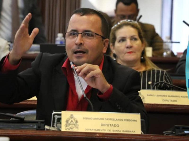 Diputado Castellanos exige sesiones presenciales en el Congreso, ante cuestionamientos por gastos de movilización