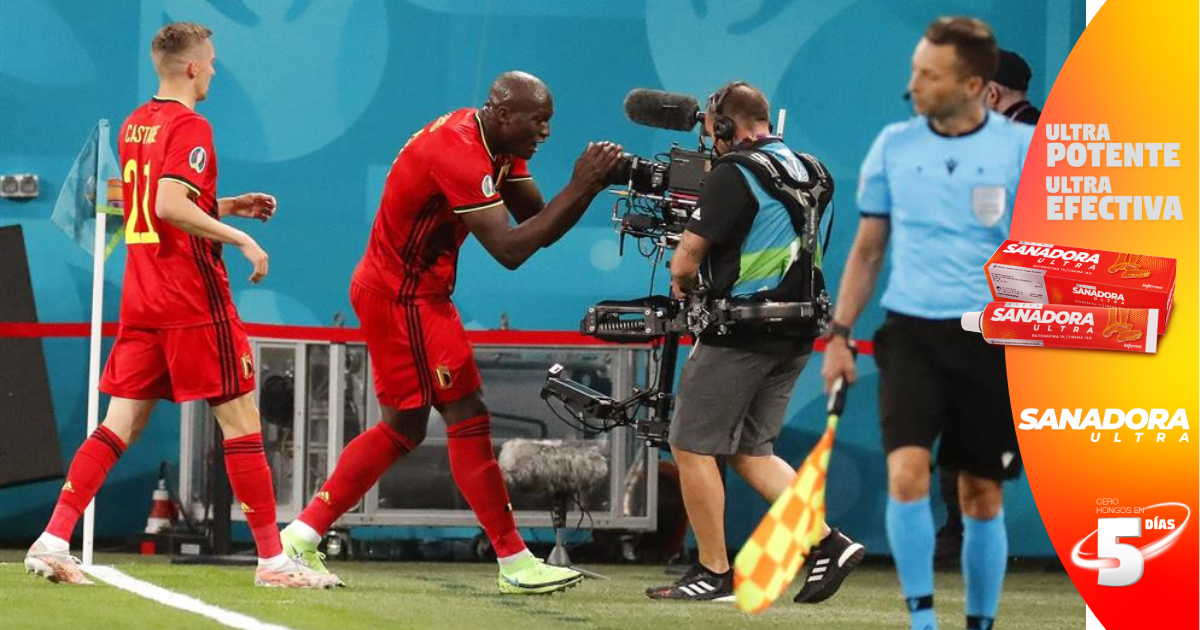Bélgica con doblete de Lukaku gana sin despeinarse a Rusia en la Eurocopa