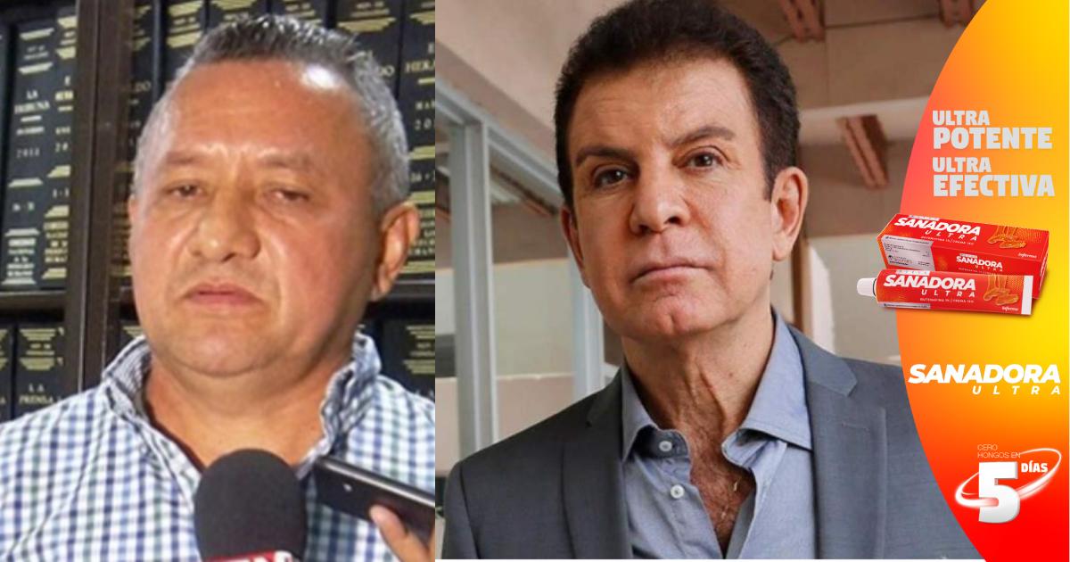 En entrega de planillas, Henry Osorto quiere que Salvador Nasralla sea el presidente de Honduras