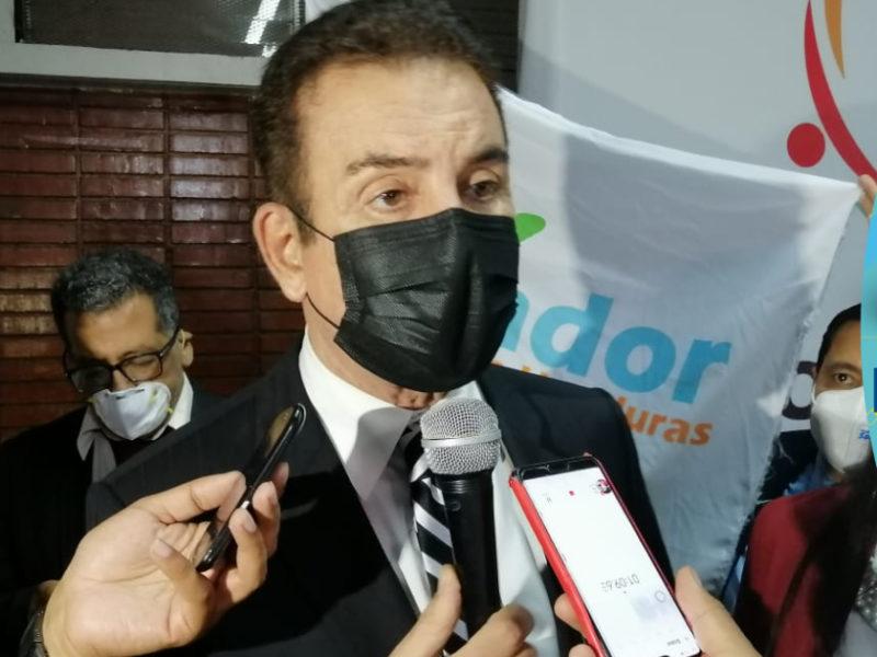 Salvador Nasralla dice que Henry Osorto presentó planillas de la Policía y quiere que sea su candidato a la Presidencia