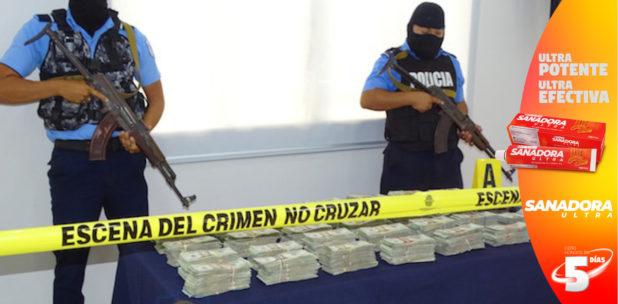 Dos hondureños detenidos en Nicaragua, en decomiso de más de 407.000 dólares