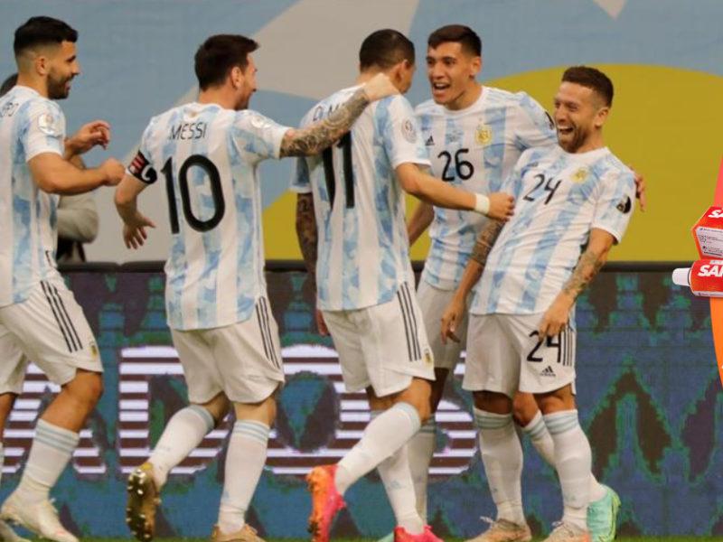 Argentina gana, anticipa su clasificación a cuartos y domina el Grupo A