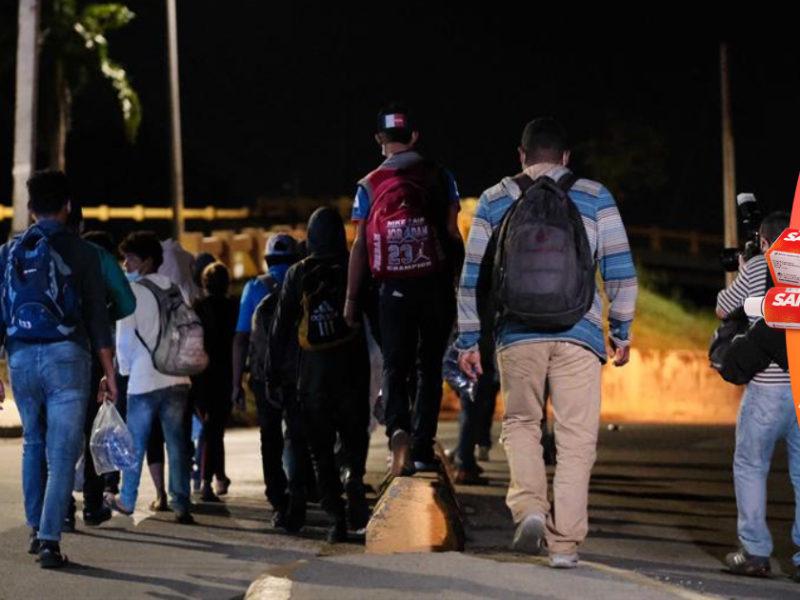 Honduras detuvo a más de 6.300 migrantes este año en ruta a Estados Unidos