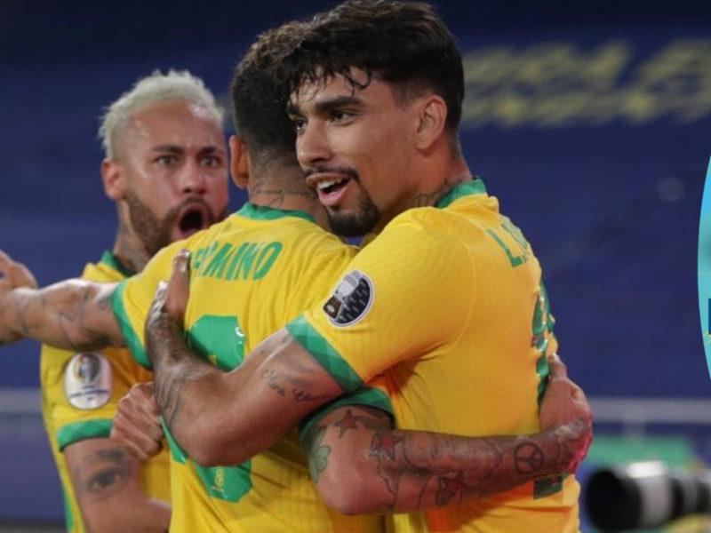 Brasil remonta en el final de un partido que perdía con un golazo