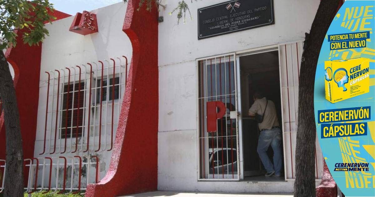 Partido Liberal presenta informe de liquidación de fondos entregados a las pasadas autoridades
