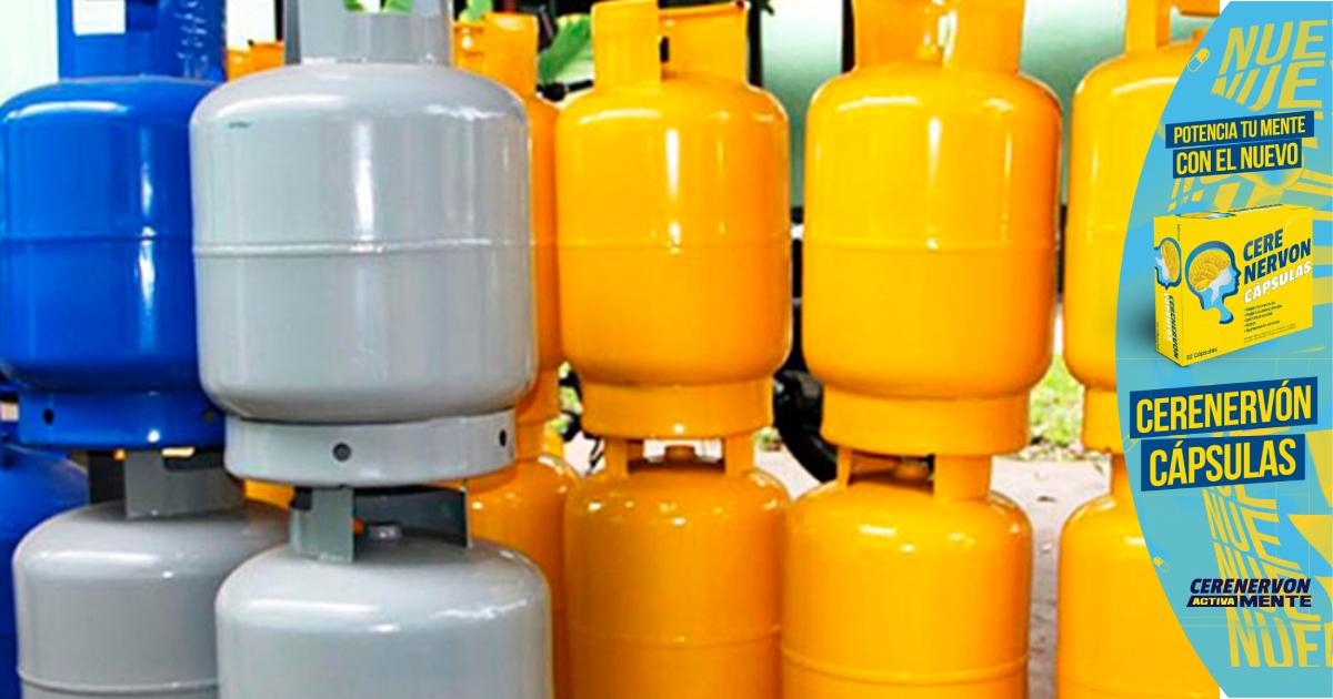 El Cilindro de Gas de 25 libras mantiene su precio para este mes de julio