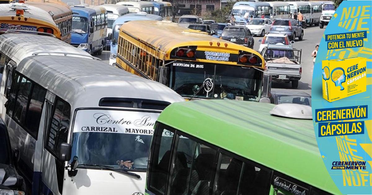 Portavoz de los transportistas dice que mañana habrá paro nacional del transporte