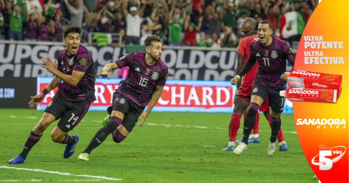 Un gol de Héctor Herrera pone a México en la final de la Copa Oro