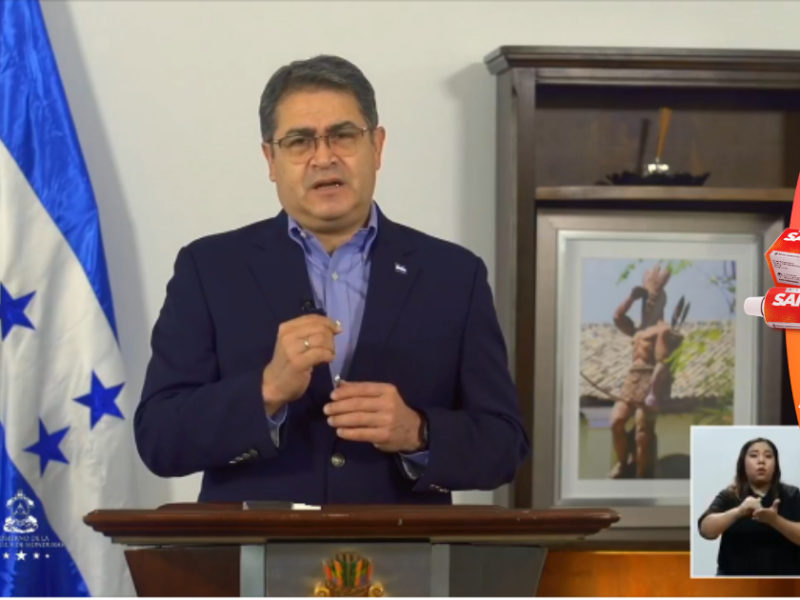 El Presidente con el Vacunatón espera superar los dos millones de hondureños vacunados contra la covid-19