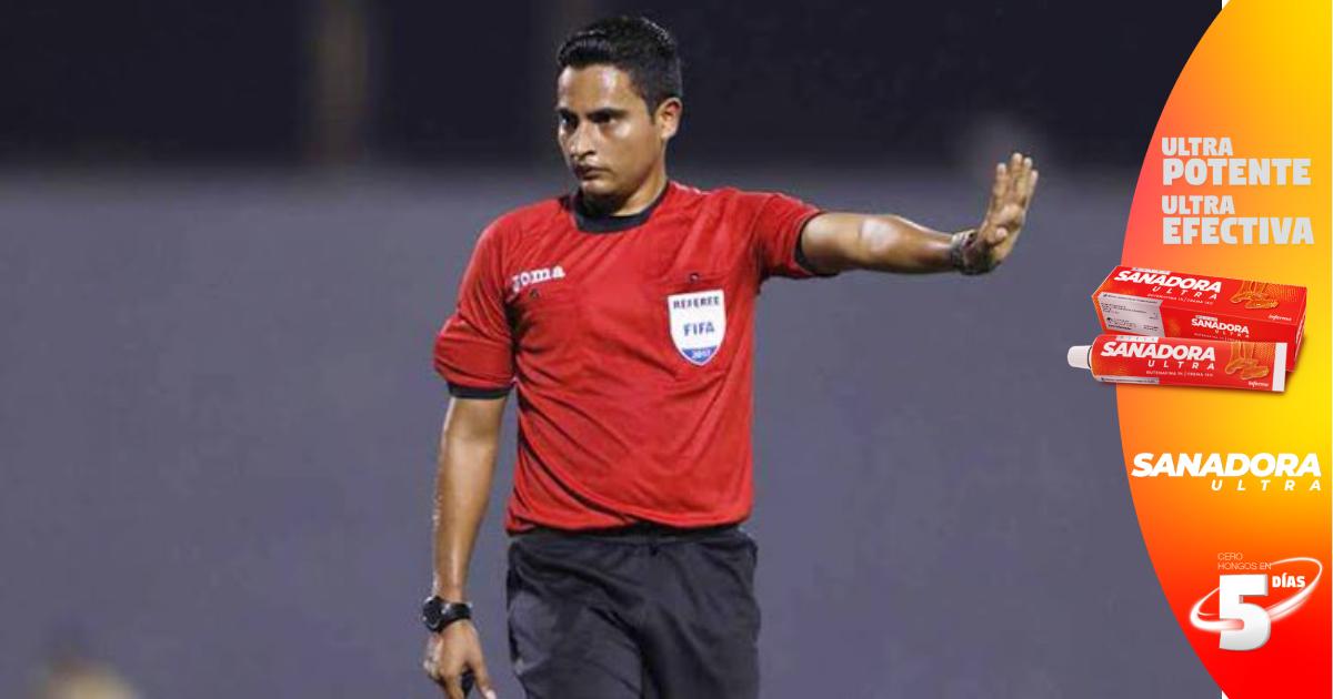 Said Martínez, el primer árbitro hondureño que dirigirá la final de Copa Oro entre México y EEUU