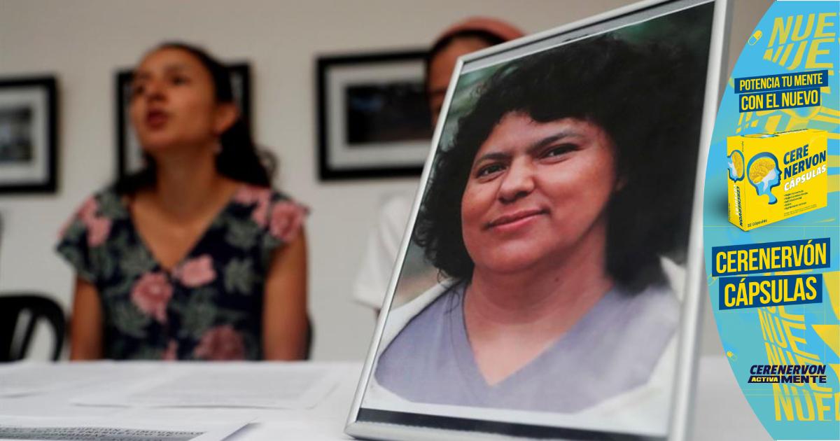Exigen pena máxima por crimen de Berta Cáceres y juzgar autores intelectuales