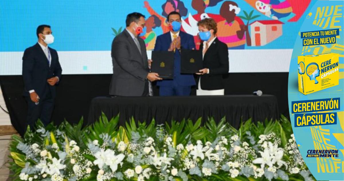 Honduras y ONU firman acuerdo marco de cooperación para desarrollo sostenible