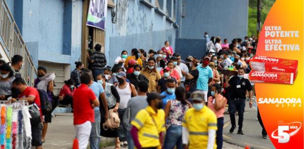 Honduras con alta tasa de positividad de casos y elevada incidencia de muertos por covid-19
