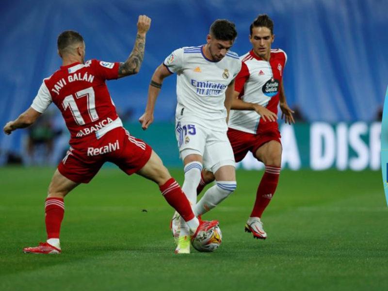El Real Madrid remonta y golea al Celta de Vigo segunda parte