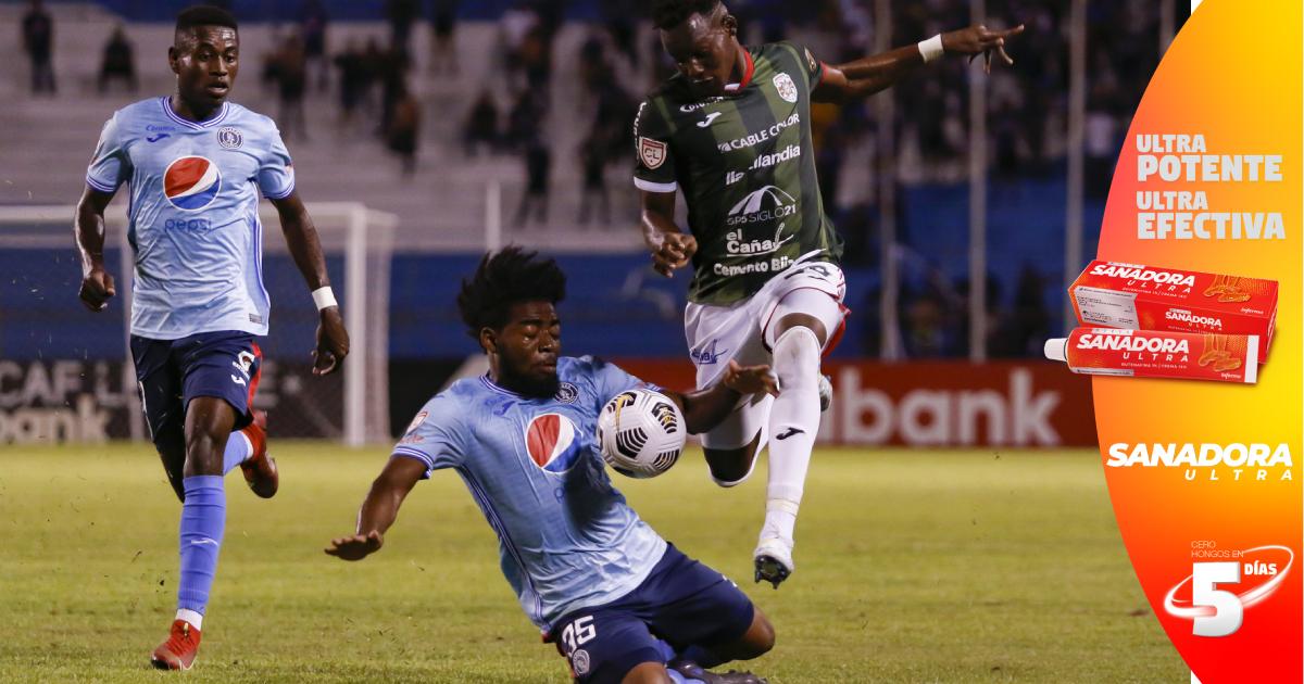 Motagua asesta primer golpe al Marathón y casi asegura la semifinal en Liga Concacaf