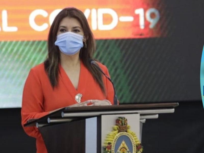 Ministra de Salud muy agradecida con Dios por la reducción de hospitalizaciones covid-19