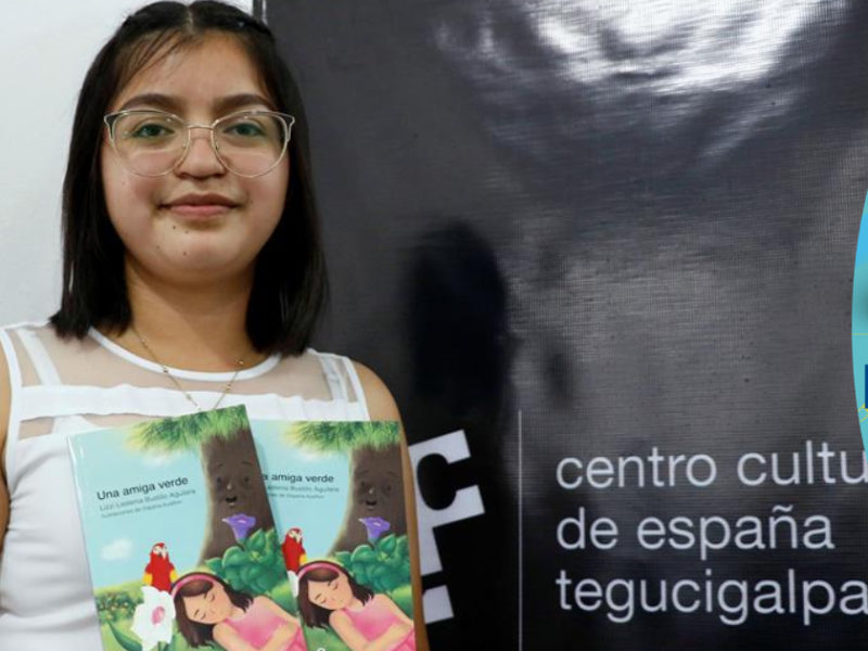 Hondureña Lizzi Bustillo gana Premio Nacional de Narrativa Infantil
